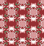 Vector seamless floral background Royalty Free Stock Photography