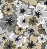 Vector seamless floral background Stock Photos