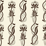 Vector Seamless Floral Background Stock Photography