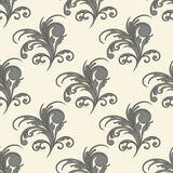 Vector seamless floral background Stock Images