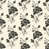 Vector seamless floral background Stock Photo