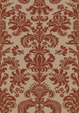 Vector seamless floral damask pattern Royalty Free Stock Images