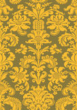Vector seamless floral damask pattern Royalty Free Stock Photography