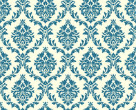 Vector seamless floral damask pattern Stock Photo