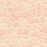 Seamless floral pattern of pink yellow petals flowers. vector illustration