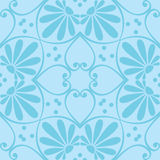 Vector seamless floral ornament Royalty Free Stock Image
