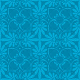 Vector seamless floral ornament Royalty Free Stock Photos