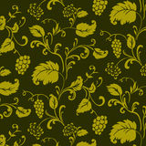 Vector Seamless Floral Pattern Stock Images