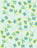 vector seamless floral pattern royalty free illustration