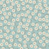 Vector seamless floral pattern. Stock Photography