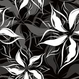 Vector. Seamless floral pattern Royalty Free Stock Photography
