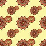 Vector seamless floral pattern. vector illustration
