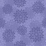 Abstract floral vector seamless pattern. Fileld of dallies. Royalty Free Stock Photo