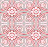 Vector seamless floral pattern background Stock Photo