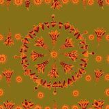 Vector seamless floral pattern 4 Stock Image