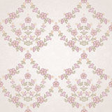 Vector seamless floral pattern in Eastern style. Royalty Free Stock Photos