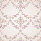Vector seamless floral pattern in Eastern style. Royalty Free Stock Images