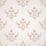 Vector seamless floral pattern in Eastern style. Royalty Free Stock Photography