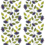Vector Seamless Floral Pattern Stock Photography