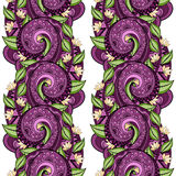 Vector Seamless Floral Pattern Stock Photo