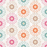 Vector seamless floral pattern. Seamless floral pattern, vector illustration Royalty Free Stock Images