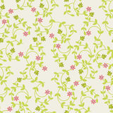Vector seamless  Floral pattern- Illustration Stock Image