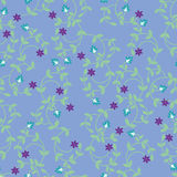 Vector seamless Floral pattern- Illustration royalty free stock photography
