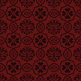 Vector seamless floral pattern, indian style Royalty Free Stock Photography