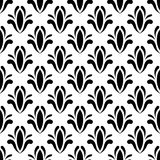 Vector seamless  floral pattern. Stock Photo
