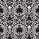Vector seamless floral pattern vintage Royalty Free Stock Image