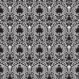 Vector seamless floral pattern vintage Royalty Free Stock Photo