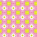 Vector Seamless Flower Pattern Stock Photo