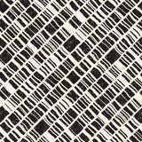 Vector seamless freehand pattern. Doodle monochrome print with hand drawn texture. Trendy graphic design. Vector seamless freehand pattern. Doodle monochrome royalty free illustration