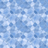 Vector seamless geometric brilliant pattern - abst Royalty Free Stock Photo