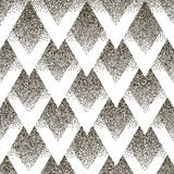 Vector seamless geometric dotted pattern. Halfton Royalty Free Stock Photo