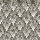 Vector seamless geometric dotted pattern.  Stock Photography