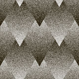 Vector seamless geometric dotted pattern. Royalty Free Stock Photo
