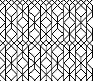 Vector seamless geometric pattern Stock Image