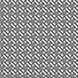 Vector seamless geometric pattern. Abstract texture. Black-and-white background. Monochrome design. royalty free illustration
