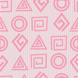 Vector seamless geometric pattern Stock Photo