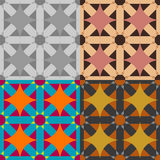 Vector seamless geometric pattern Stock Photography
