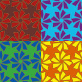 Vector seamless geometric pattern Royalty Free Stock Photos