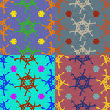 Vector seamless geometric pattern Royalty Free Stock Images
