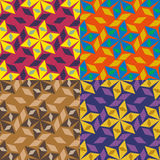 Vector seamless geometric pattern Stock Images