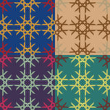 Vector seamless geometric pattern Royalty Free Stock Image