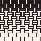 Vector Seamless Geometric Pattern. Halftone gradient color transition  Stock Images