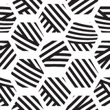 Vector seamless geometric pattern Royalty Free Stock Photo