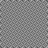 Vector seamless geometric pattern. Texture of triangle shapes. Black-and-white background. Monochrome design. vector illustration