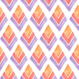 Vector Seamless Geometric Pattern Royalty Free Stock Photography