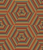 Vector Seamless Geometric Retro Pattern Royalty Free Stock Image